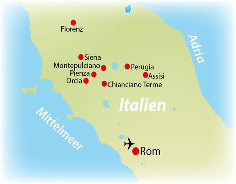 toskana italija mapa NIKAL PUTNIČKA AGENCIJA toskana italija mapa